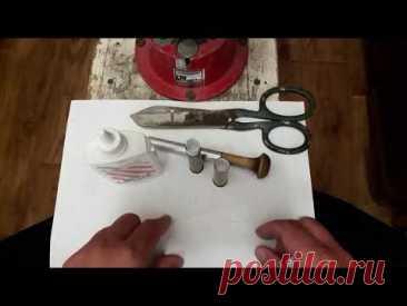 Доработка самодельного бумажного стаканчика для латунной гильзы ружья ТОЗ - 34 28 калибра.