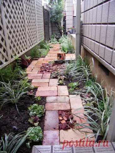 『夏を乗り切る!お庭のプチ改造!レンガで癒しのサマーガーデン♪』