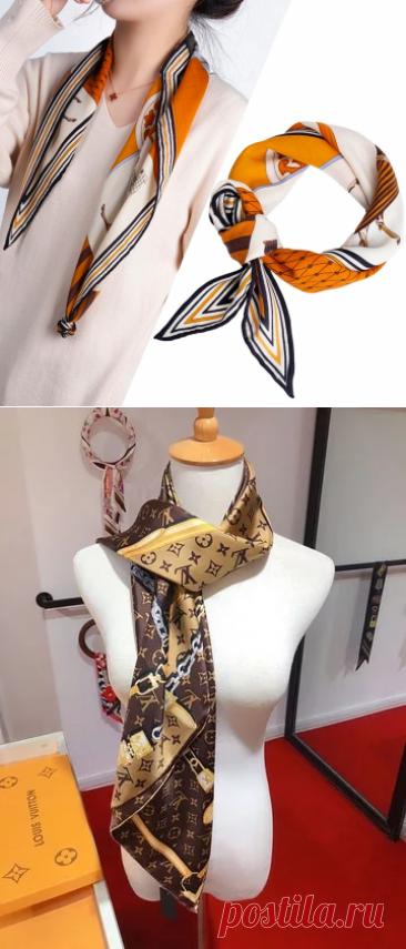 Роскошный брендовый новый квадратный твиловый шарф с принтом Louis, модные женские шарфы с принтом, толстые пледы, шейные шарфы, шаль WJ10036