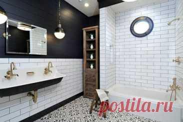 Дизайн ванной комнаты 2021: современные идеи и тренды