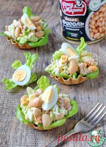 Салат из фасоли, тунца и капусты – кулинарный рецепт