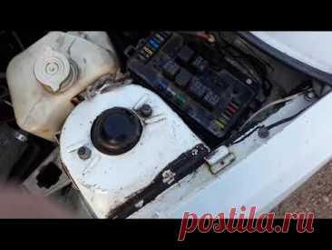Иж 2717. ТО, стоп-сигналы и мой метод запуска мотора вручную)).