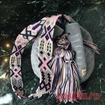 #вязание_плетение_сумка by Otomiartesanal.