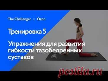 Упражнения для развития гибкости тазобедренных суставов