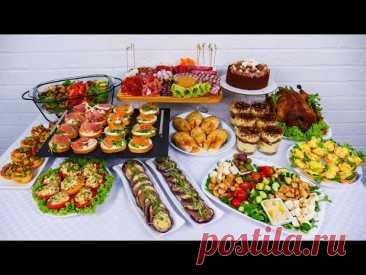 МЕНЮ на Любой Праздник! Мой ПРАЗДНИЧНЫЙ СТОЛ: горячее, закуски и салаты!
