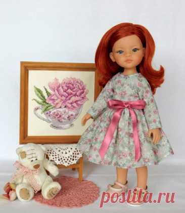 Платья для кукол по выкройкам Ольги Вареник