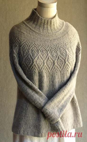 Вязаный свитер Thornapple   ДОМОСЕДКА