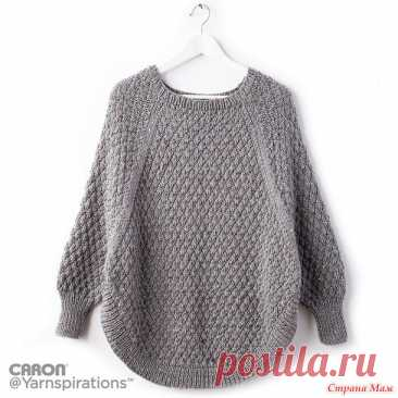 Pullover poncho spokes - Knitting - the Country of Mothers