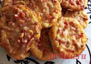 (4) Мини пицца - пошаговый рецепт с фото. Автор рецепта АнжеЛика . - Cookpad