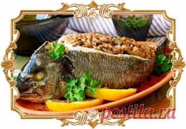 #Дорада, #фаршированная #гречкой (#рецепт #для #пароварки, и #без #глютена)  #Рыба, фаршированная гречневой крупой, отсылает нас к традиционной #русской #кухне, когда подобное блюдо запекали в печи и подавали на праздничный стол. Если вы справитесь с главной трудностью этого рецепта - разделыванием рыбы, вас ждёт удивительно вкусное и ароматное блюдо. Попробуйте также карпа, фаршированного гречкой и грибами. Показать полностью...