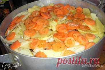 Сельдь свежая, тушенная с овощами, пошаговый рецепт на 8 ккал, фото, ингредиенты - Юлия