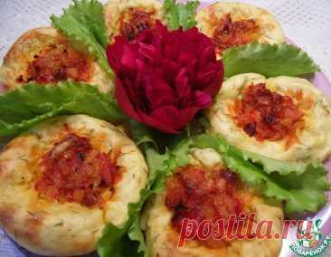 Картофельно-овощные ватрушки – кулинарный рецепт