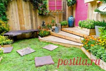 Идеи оформления дачного участка   Огородные шпаргалки   Пульс Mail.ru Добрый день, мой читатель. Обустроить любимую дачу — мечта каждого садовода. Создать приятный, уютный уголок — задача, которая по силам любому....