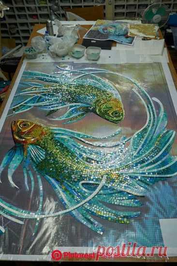 Mosaic art image by Ernie Barrow on DIY Rug in 2020 | Mosaic artwork, Mosaic tile art   Mosaic art image by Ernie Barrow on DIY Rug in 2020 | Mosaic artwork, Mosaic tile art