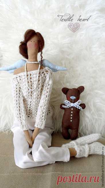Куклы-тильды ангелы