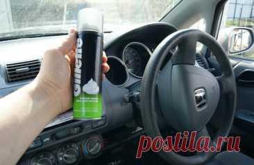 Пена для бритья в машине — правда и мифы | RuDorogi | Пульс Mail.ru Правда, что обычную пену для бритья можно с пользой использовать в машине?