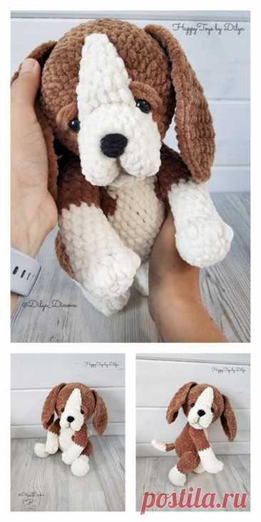 Amigurumi Cute Dog Free Pattern-Бесплатные Модели Амигуруми