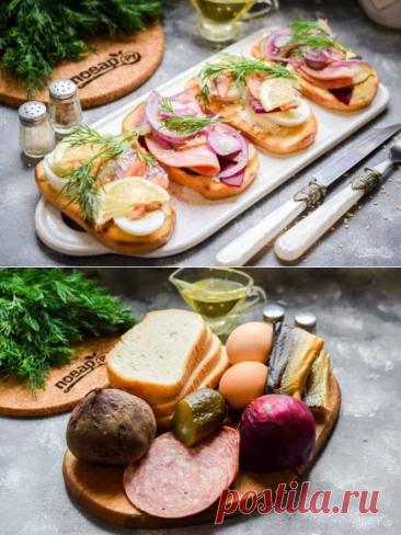 Датские бутерброды | Вкусные кулинарные рецепты
