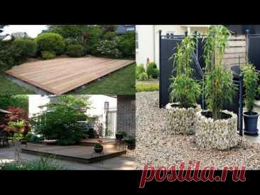 Современное оформление двора частного дома. Идеи красивого дизайна