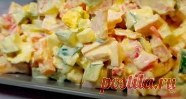 Салат, который не надоест - Лучший сайт кулинарии