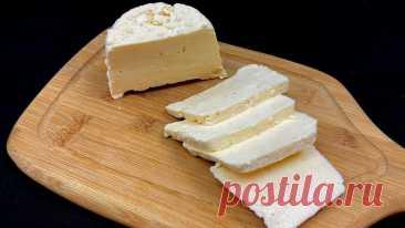 Хватит покупать сыр в магазине! Сделайте сами - всего 3 ингредиента и 10 минут вашего времени!