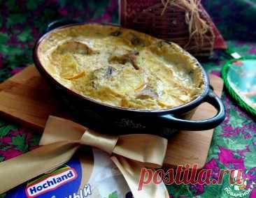 Минтай запечённый в сырно-перечном соусе – кулинарный рецепт