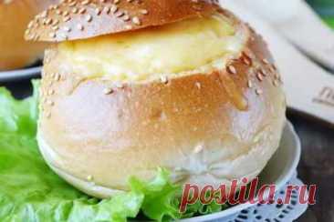 Фаршированные булочки вкусной начинкой, горячие бутерброды. | Вкусные кулинарные рецепты