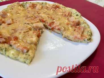 ПП-пицца на творожной основе за 15 минут. Вилкой перемешал и тесто готово. Входит в мое меню, на котором я похудела до 54 кг | ХУДЕЕМ ВКУСНО! | Яндекс Дзен