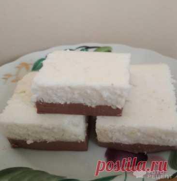 Рецепт: Кокосовое облачко | десерт без выпечки, легко и быстро готовится
