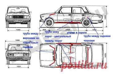 Усиление кузова Ваз Классика — DRIVE2
