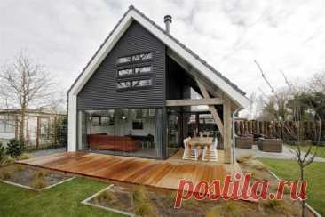 Красивые дачные домики: 60 проектов на любой вкус | Живу за городом