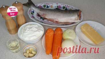 Сочная горбуша с овощами в духовке   Еда на любой вкус