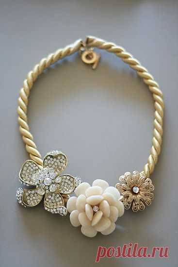 Life is Beautiful: Anthro DIY Marjorelle Necklace