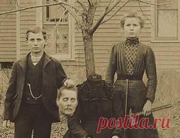 Блогеры в недоумении от странных фотографий вековой давности