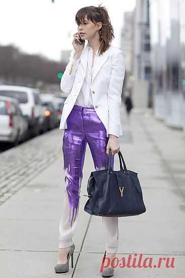 Словно облилась / Пачкаем / Модный сайт о стильной переделке одежды и интерьера