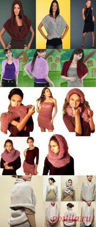 Японский шарф-трансформер!