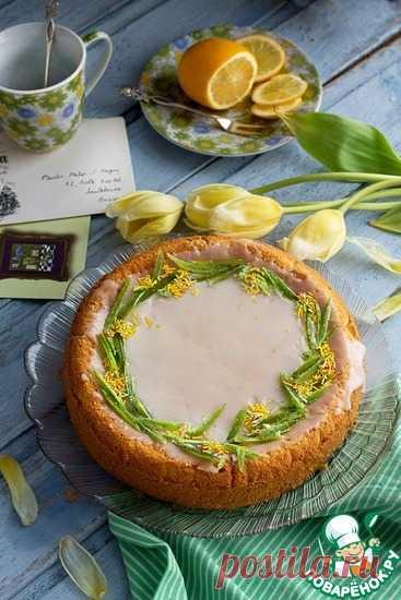 Бисквитный лимонник Кулинарный рецепт