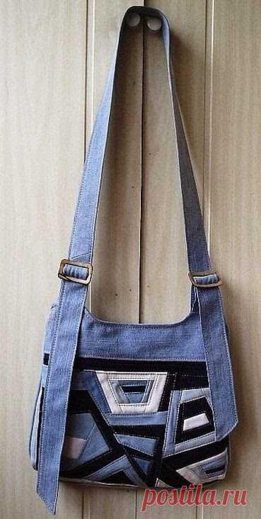 Джинсовые переделки. Made of Jeans Denim ~ DIY Tutorial Ideas!