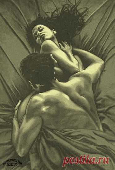 Она и он в постели фото — img 13