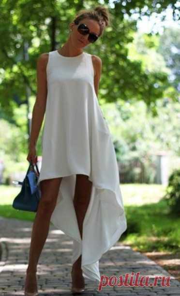 816c6db37ce0539 Легкое платье своими руками: инструкция и выкройки | кройка шитье ...