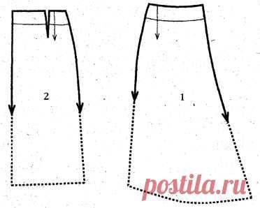 Шьем асимметричную юбку » Бесплатные выкройки одежды, шьем своими руками платья, блузки, пальто, костюмы, сарафаны
