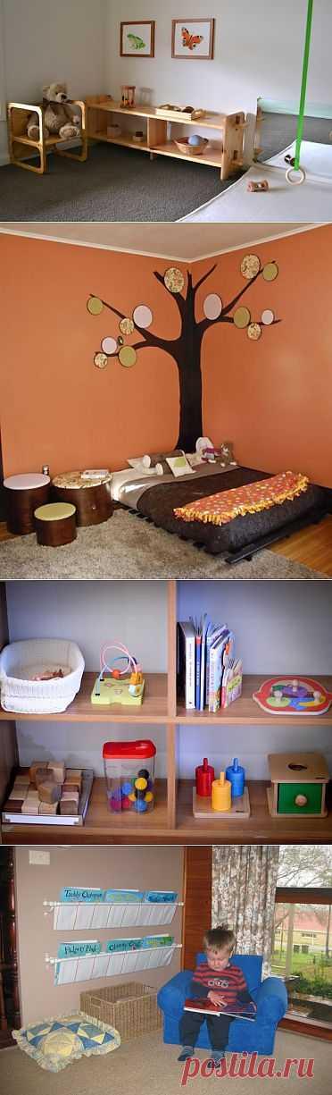 Комната для ребенка от рождения до шести | Публикации | Летидор