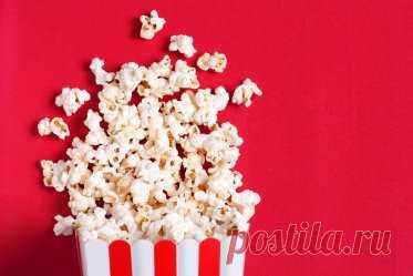 Летний киносеанс: забавные факты о попкорне