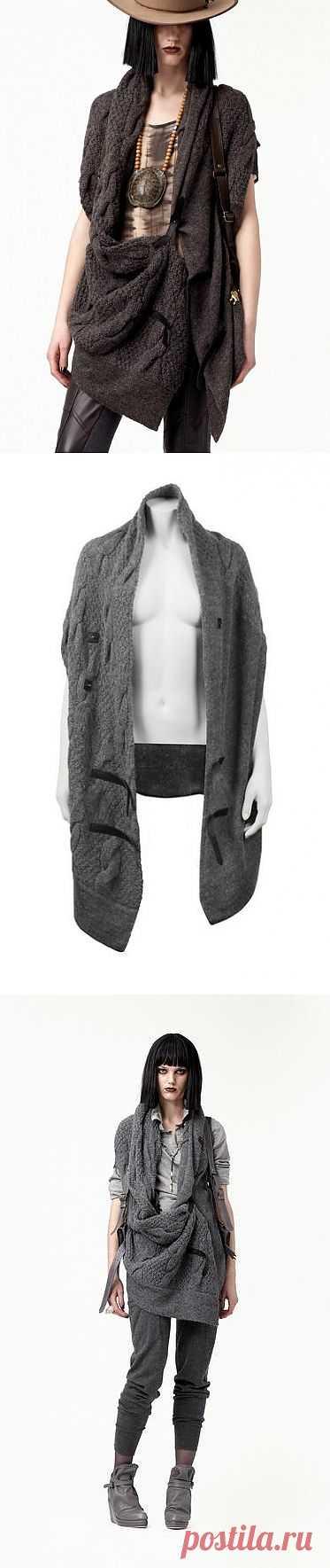 Жилет от Nicholac K / Простые выкройки / Модный сайт о стильной переделке одежды и интерьера