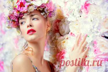 Rules of a spring make-up: secrets of makeup artists