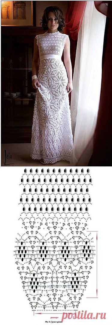 Вязаное свадебное платье | My Milady