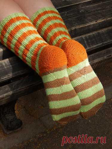 4086205f2b11d полосатые носки с клином на подошве | Хорошо.Громко. | На ножки ...