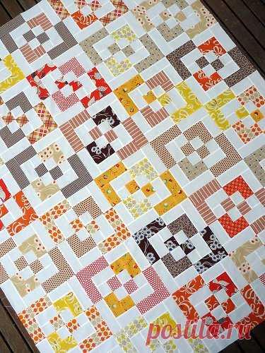 Пэчворк шитье. Красивый блок из квадратов / Пэчворк, лоскутное шитье. Мастер класс для начинающих, схемы / Лунтики. Развиваем детей. Творчество и игрушки