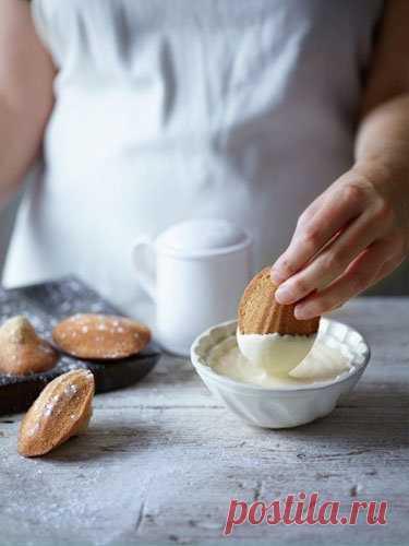 Как испечь печенье Мадлен   Сегодня рецепт: как испечь печенье Мадлен. Вкусное печенье с орехами!