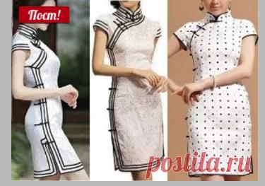 Платье в восточном стиле (от 36 до 56 размера)